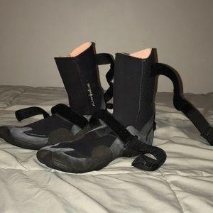 Rip Curl Swim - Rip Curl Flashbomb 3mm Hidden Split Toe Booties